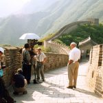 Marq de Villiers at the Great Wall of China