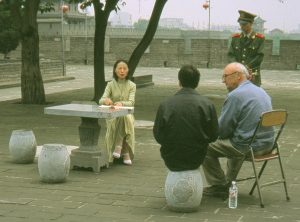 Marq de Villiers in Xian, China, 2002